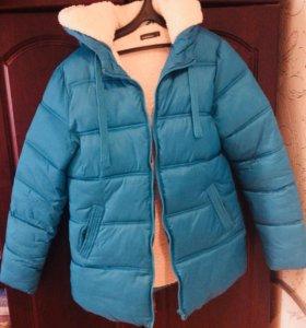 Зимняя куртка размер 40-42