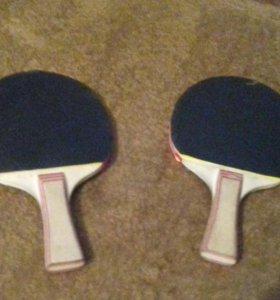 Ракетки для настолььного тенниса