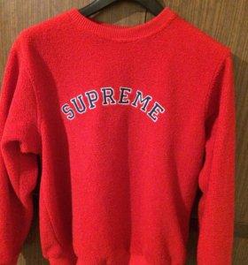 Supreme x Polartec (свитер, свитшот)