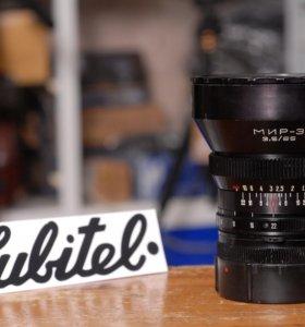 Объектив Мир-3 65 mm f/ 3.5