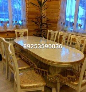 Продам стол на балясинах 2м