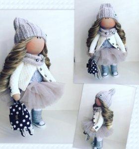 Интерьерная кукла ручной рмботы