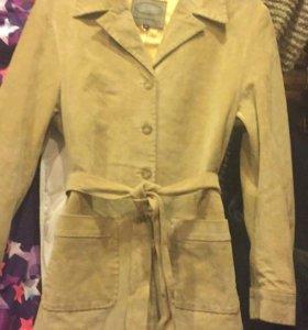 Куртка замшевая, размер М, на 46 размер