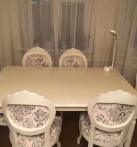 Стол и стулья «Оскар», Молодечномебель