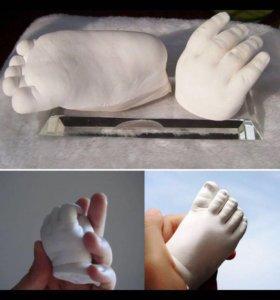 Набор для творчества baby art изготовление слепка