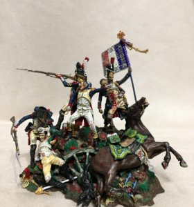 ANDREA Miniatures,Waterloo, оловянные солдаты