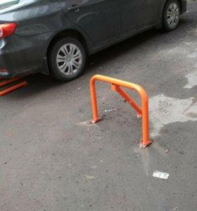 Парковочный барьер. Установка.