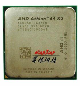 AMD Процессор Athlon 64x2 5600 + 2.9 ГГц AM2