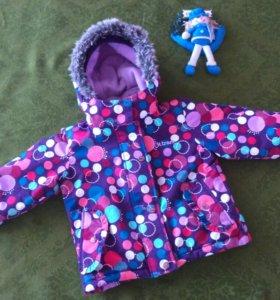Gusti 3 - 98 см., зимний костюм для девочки