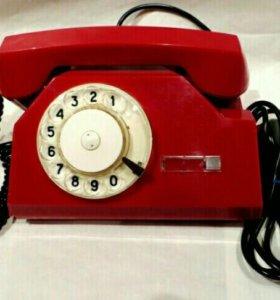 Телефон дисковый в разбор