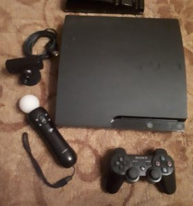 Sony Play Station 3 + 10 дисков