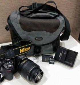 Nikon D3100 зеркальный фотоаппарат