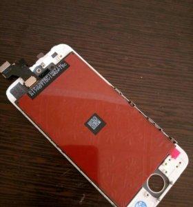 Дисплей на iphone 5 белый