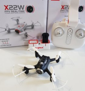 Квадрокоптер SYMA X22W с камерой FPV + WiFi
