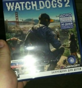 Игра Watch dogs 2 Playstation 4