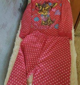 Пижама детская 7-9 лет