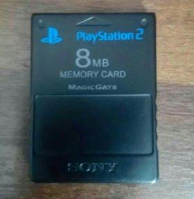 Карта памяти PS2 8mb