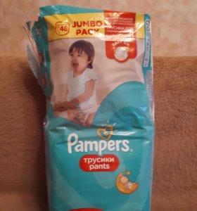 Подгузники-трусики Pampers Памперс