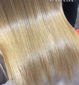 Полировка волос от секущихся кончиков
