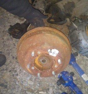 Ступица с тормозным барабаном газ3309