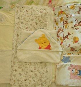2 Комплекта белья в детскую кровать