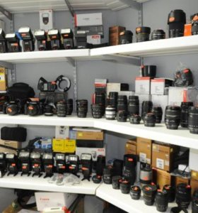 Canon комплект объективов