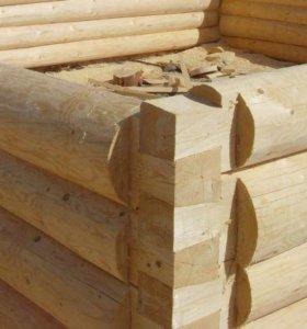 Строительство недорогих срубов