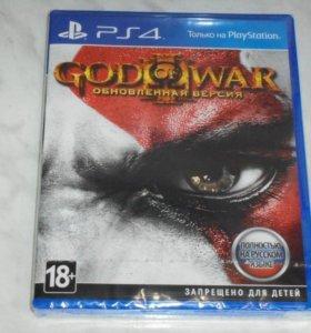 Игра для PS4 God of War III
