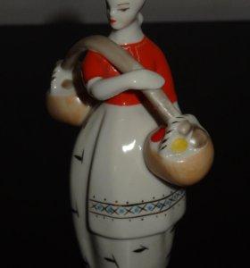 Фарфоровая статуэтка зхк-Полонне