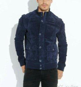 Новая натуральная замшевая куртка