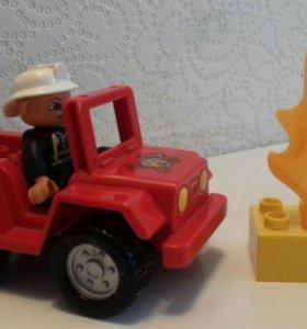 Лего пожарный