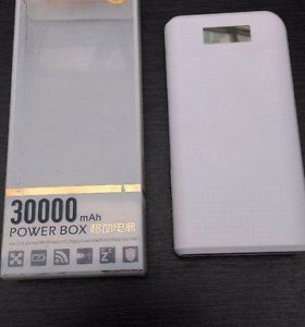 Powerbank зарядное устройство.дисплей! 30.000 мАч