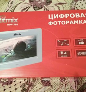 Цифровая фотокамера ritmix rdf 701