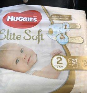Huggies Elite Soft 2 (от 3 до 6кг)