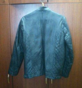 Куртка кожанная р-р 48-50
