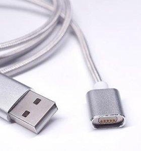 Магнитный зарядный USB кабель для iPhone (8 pin)