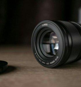 Panasonic lumix 42,5mm f 1,7