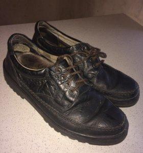 Туфли кожи