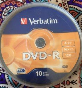 Чистые DVD-R диски