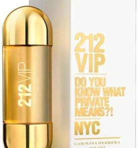 212 вип оригинал.женская парфюмерная вода