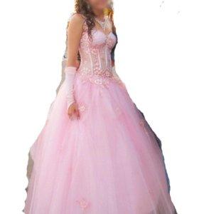 Красивое выпускное платье