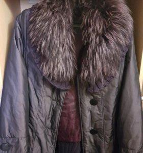 Зимняя куртка с подкладкой на меху