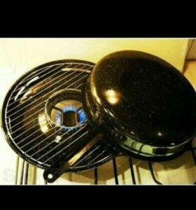 Сковорода гриль газ