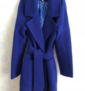 Синее пальто Новое