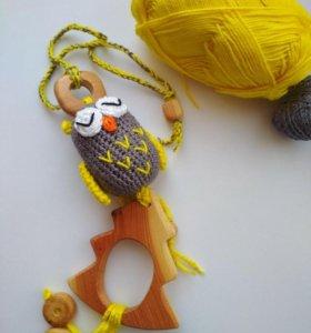 Грызунок,слингобусы,игрушка,погремушка