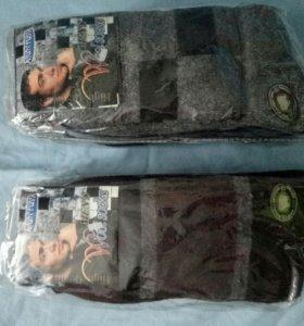 Носки шерстяные мужские 10 пар