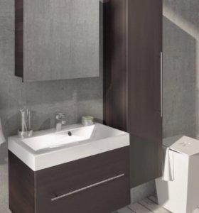 Зеркало - шкаф для ванной комнаты.