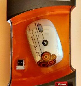 Мышка белая Intro MW205 mouse White USB