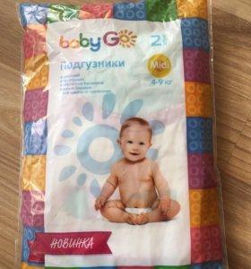 Подгузники Baby Go