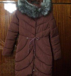 Зимний пуховик размер 42